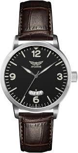 Швейцарские <b>часы Aviator</b> Aircobra <b>V</b>.<b>1.11.0.034.4</b>