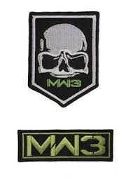2 Pieces MW3 Call of Duty Modern Warfare 3 Military ... - Amazon.com