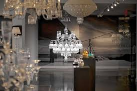helios by baccarat chandeliers baccarat zenith arm black crystal chandelier