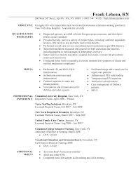 resume nurses and registered nurse resume on pinterest objectives in resume for nurses