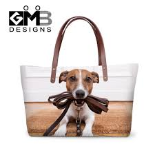 ladies work handbags promotion shop for promotional ladies work women handbags for working animal printing shoulder beach bags cute dog cat casual female big tote shopping bags bolsa feminina