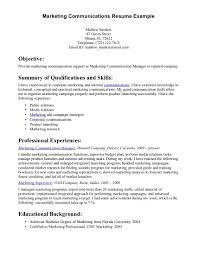 communication resume sample template communication resume sample