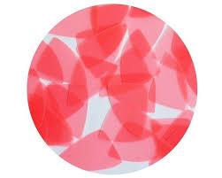 "<b>Fishscale</b> Fin <b>Sequin</b> 1.5"" Orange Salmon Fluorescent Transparent ..."