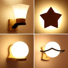 Online Shop <b>Modern</b> Japanese Style LED <b>Wood Wall Lamp</b> ...