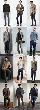 key business casual pieces for autumn winter fashionbeans men s autumn winter business casual outfit inspiration lookbook trousers and chinos