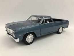 <b>1965</b> Chevy ElCamino blue by <b>Maisto 1:24</b> model | The Auto Expo ...