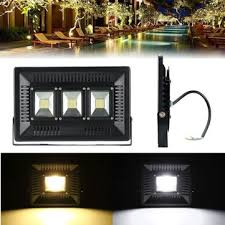 <b>100w led ultra thin</b> waterproof <b>flood</b> light outdooors garden yard ...