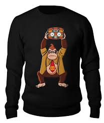 Свитшот унисекс хлопковый <b>Printio Donkey Kong</b> (Nintendo ...