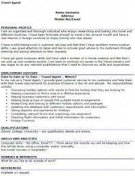 travel agent cv example icoverorguk junior travel consultant resume