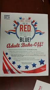 show off your cooking skills at patchogue medford library s first flyer for patchogue medford library s first bake off contest for adults photo courtesy
