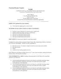 resume  functional resume sample  corezume coimages for functional resume sample