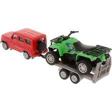 Купить <b>модель машины</b> Технопарк УАЗ с <b>квадроциклом</b> с ...