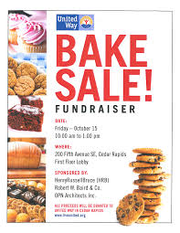 bake fundraiser flyer like success template bake fundraiser flyer