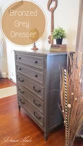 diy furniture restoration ideas. Draven Made Bronzed Grey Dresser Using Milkpaint Generalfinishes Furniture RefinishingPainting FurnitureFurniture MakeoverDiy Diy Restoration Ideas T