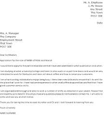 starbucks cover letter example icoverorguk contoh cover letter