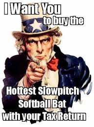 Meme Maker - I Want You to buy the Hottest Slowpitch Softball Bat ... via Relatably.com
