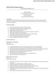 medical office manager resume samples resume exampl medical office medical office manager resume examples