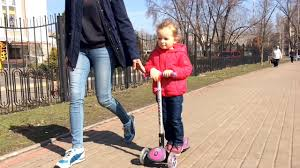 <b>Самокат 3х колесный Globber</b> / Scooter Globber My Free Fold Up ...