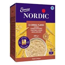 <b>Хлопья Nordic</b> (<b>Нордик</b>) 5 видов зерновых, с 12 мес., 600 гр ...