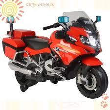 """Детский Мотоцикл <b>Barty</b> """"<b>BMW</b> R1200RT Police"""" - Купить, цена ..."""