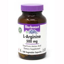<b>L</b>-<b>ARGININE 500 mg</b> 100 VEGETABLE <b>CAPSULES</b> - Bluebonnet ...