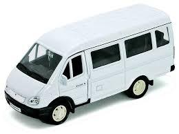 Микроавтобус <b>Welly</b> ГАЗель пассажирская (<b>42387A</b>) — купить по ...