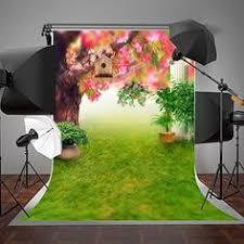SUSU 5x7ft(<b>150x220cm</b>) Green Spring Photography <b>Backgrounds</b> ...