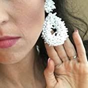 Fashion Cute DIY Animal Beaded Statement Earrings ... - Amazon.com
