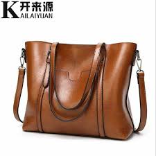 <b>100</b>% <b>Genuine leather Women</b> handbags 2019 New Paragraph tide ...