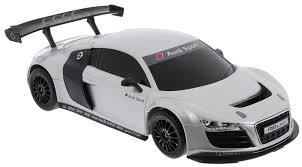 Rastar Радиоуправляемая <b>модель</b> Audi R8 LMS цвет белый ...