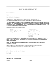 44 fantastic offer letter templates employment counter offer job offer letter 22