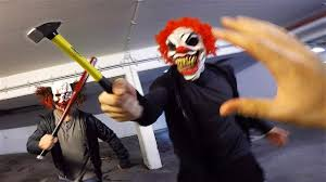 Horror Clowns VS <b>Parkour</b> POV | Creepy Halloween Chase - YouTube