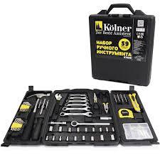 """<b>Набор инструментов Kolner</b> """"<b>KTS</b>"""", 59 предметов — купить в ..."""
