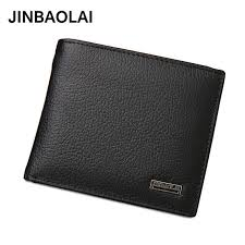 Online Shop <b>JINBAOLAI Genuine Leather</b> Men Wallets Short Design ...