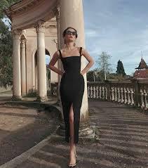 2020 black <b>Prom</b> Dress, <b>Long Prom</b> Dress <b>Simple Prom</b> Dress cg5228