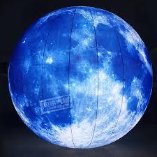 2019 <b>3m</b>/<b>6m Inflatable Moon Giant</b> Moon Balloon LED Inflatable ...