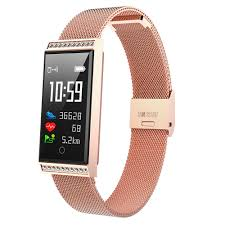 2019 Fashion Thin Swimming Smart Watch Women Men ...