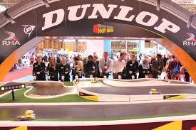 dunlop truck racing at the cv show commercial vehicle dealer dunlop truck racing at the cv show 2016