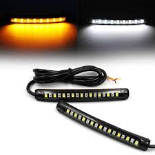 mayitr 4pcs 12v universal motorcycle bike turn signal blinker indicator amber light high quality