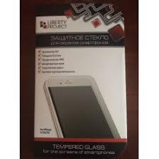 Отзывы о <b>Защитное стекло</b> для экранов смартфонов <b>Liberty Project</b>