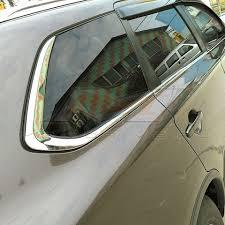 <b>Хром молдинг</b> боковых окон Mitsubishi Outlander 3 2012 2013 ...
