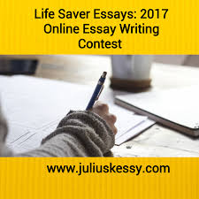 lifesaver essays online essay writing contest