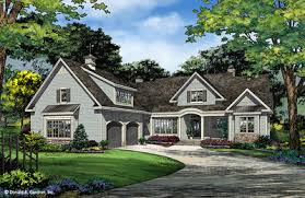 Craftsman House Plans  amp  Craftsman Style Homes   Don GardnerHouse Plan The Porter