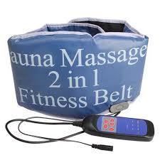 Электрический вибрирующий <b>массажер для сауны</b> 2 в 1, фитнес ...