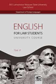 <b>Татьяна Тарасова</b>, <b>English for</b> Law Students. University Course ...