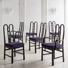 A Set of <b>6</b> Post <b>Modern Dining Chairs</b> by Aldo Rossi, 1980's ...