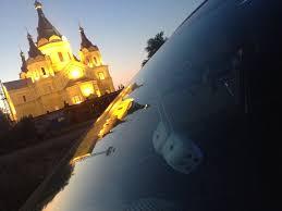 Установка растяжек и фотосет в порту… — Лада Калина Седан ...