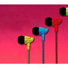 <b>Woven Wire In-ear</b> Heavy <b>Bass</b> Crack Subwoofer Universal <b>Ear</b> ...
