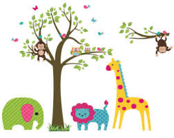 baby nursery decor lion elephant jungles baby zoo animals nursery hangings happy cheerful monkeys girrafes baby nursery cool bee animal