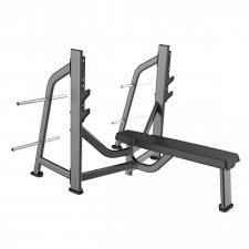 E-7043 <b>Скамья</b>-стойка для жима <b>штанги</b> лежа (Olympic <b>Bench</b>) г ...